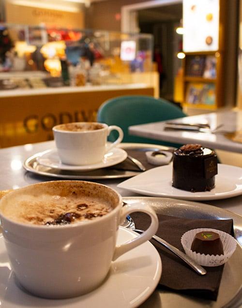 Godiva Café Chocolat coffees