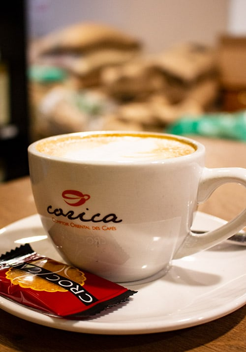 Comptoir Oriental des Cafés cappuccino