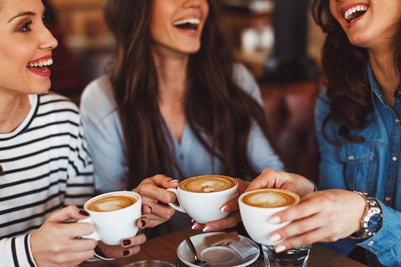 women love coffee
