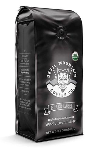 devil mountain coffee black lable